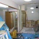 内装解体と内装施工