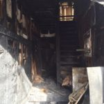 火災現場の確認