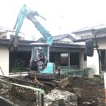 松戸市の解体現場