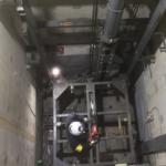 エレベーター撤去工事について